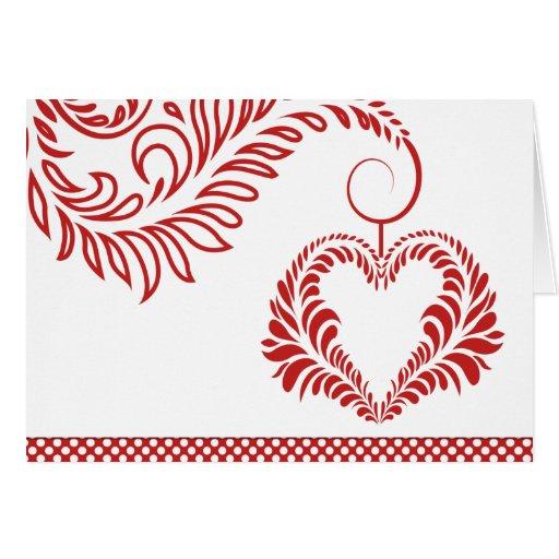 El día de San Valentín feliz de encargo de las Tarjeta De Felicitación