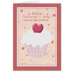 El día de San Valentín feliz de la abuela - magdal Tarjeton