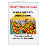 ¡El día de San Valentín feliz de la cabeza de alfi Felicitaciones
