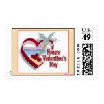 El día de San Valentín feliz de la Florida Sellos