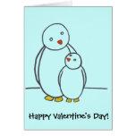 ¡El día de San Valentín feliz del amor del padre Felicitaciones