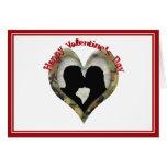 El día de San Valentín feliz Felicitacion