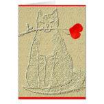 El día de San Valentín feliz Felicitaciones