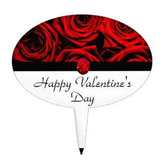 El día de San Valentín feliz Figuras Para Tartas