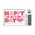 El día de San Valentín feliz Franqueo