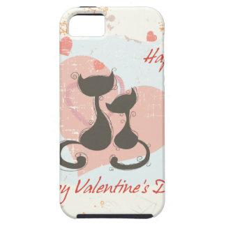 El día de San Valentín feliz iPhone 5 Funda