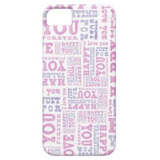 El día de San Valentín feliz iPhone 5 Fundas