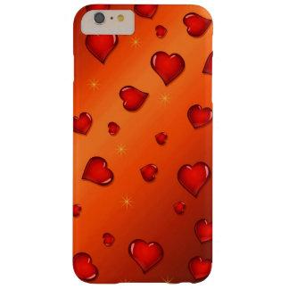 El día de San Valentín feliz Funda Para iPhone 6 Plus Barely There