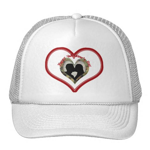 El día de San Valentín feliz Gorra