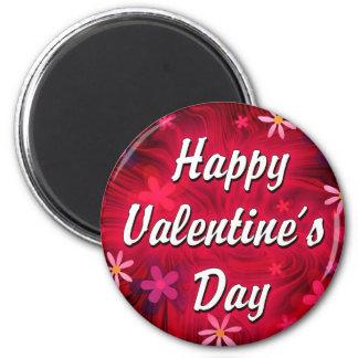 El día de San Valentín feliz Imanes