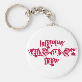 El día de San Valentín feliz Llavero Personalizado