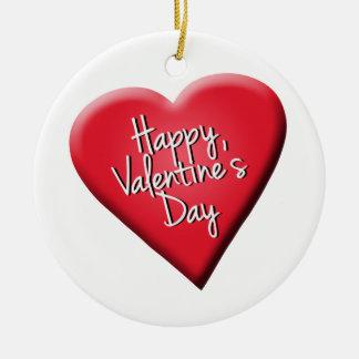 El día de San Valentín feliz Ornatos