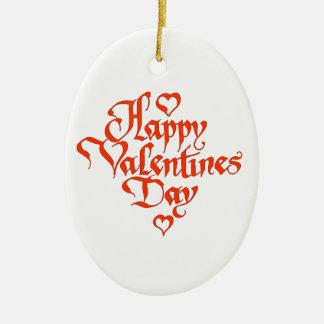 El día de San Valentín feliz Ornato