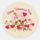 El día de San Valentín feliz Pegatinas