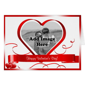 ¡El día de San Valentín feliz! Plantilla de la Tarjeta De Felicitación