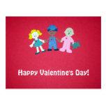 ¡El día de San Valentín feliz! Postales