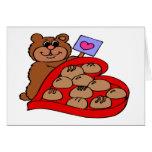 El día de San Valentín feliz - tarjeta de felicita