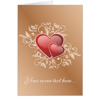 El día de San Valentín feliz Tarjeta De Felicitación