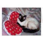 El día de San Valentín feliz Tarjetas