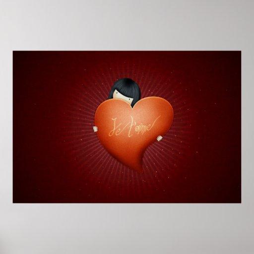 El día de San Valentín feliz: Un chica en amor Póster
