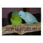 El día de San Valentín feliz V Felicitación