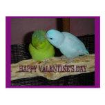 El día de San Valentín feliz V Postal