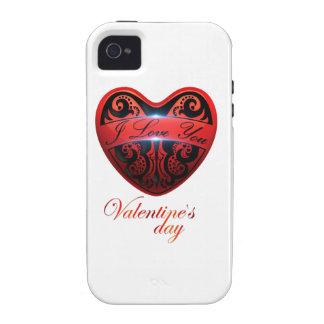 El día de San Valentín iPhone 4 Fundas