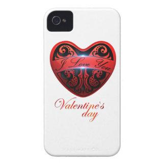 El día de San Valentín Case-Mate iPhone 4 Cárcasas