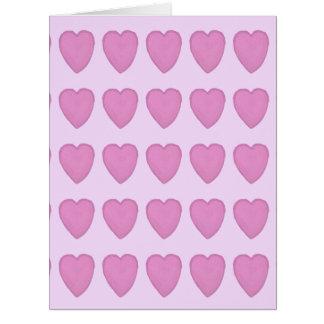 El día de San Valentín hermoso Tarjeta De Felicitación Grande