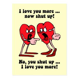 El día de San Valentín lindo y divertido Postales