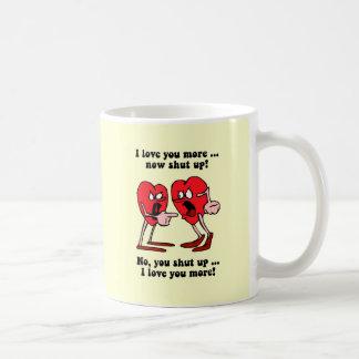 El día de San Valentín lindo y divertido Taza