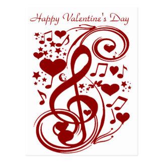 El día de San Valentín Love_Postcard Postal