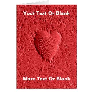 El día de San Valentín - Marte Tarjeta De Felicitación