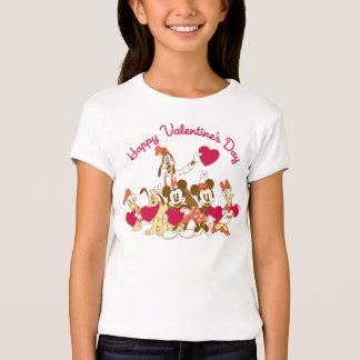 El día de San Valentín - Mickey y amigos Playera