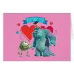 El día de San Valentín - Monsters Inc. Tarjeton