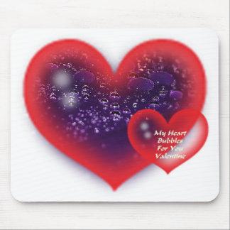 El día de San Valentín Mousepad del corazón Alfombrilla De Ratón