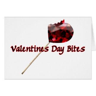 El día de San Valentín muerde la tarjeta