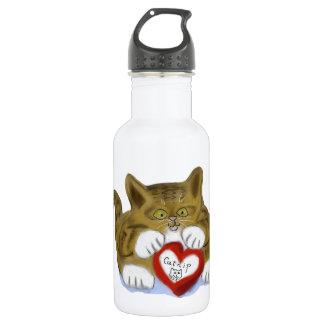 El día de San Valentín para el gatito del tigre