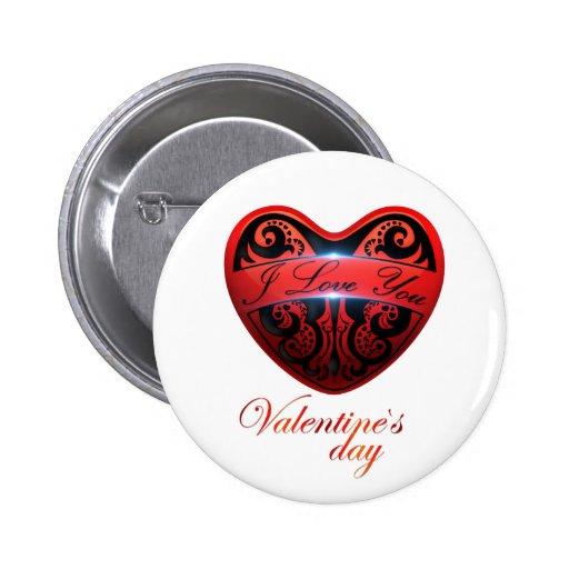 El día de San Valentín Botones