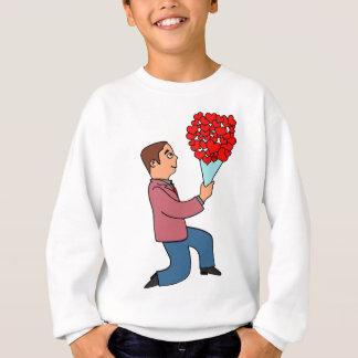El día de San Valentín Sudadera