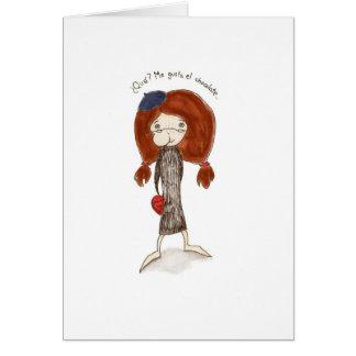 El Dia de San Valentin Tarjeta Card