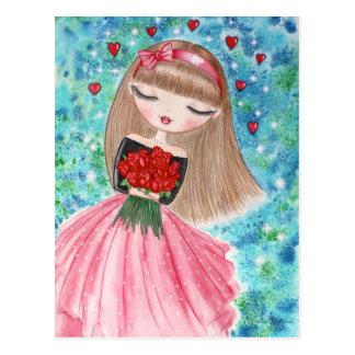 """""""El día de San Valentín """" Tarjetas Postales"""