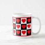 El día de San Valentín Tazas De Café