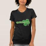 El día de St Patrick afortunado del trébol de Irla Camiseta