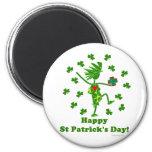 El día de St Patrick banal Imanes Para Frigoríficos