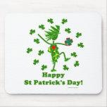 El día de St Patrick banal Tapetes De Ratón