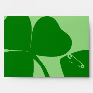 El día de St Patrick - consiga 3 afortunados+1 = 4 Sobres