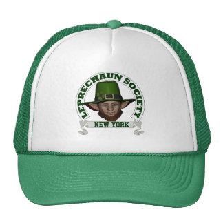 El día de St Patrick de la sociedad del leprechaun Gorros