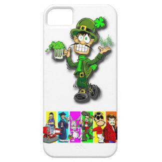 """El día de St Patrick: """"DEEDLY-DEEDLY-DEEDLY-DEE """" iPhone 5 Funda"""