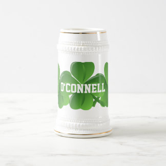 El día de St Patrick del irlandés de Personlalized Jarra De Cerveza